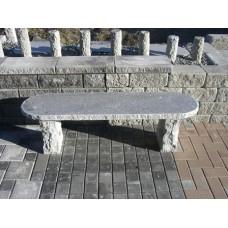 Enkel bänk i granit